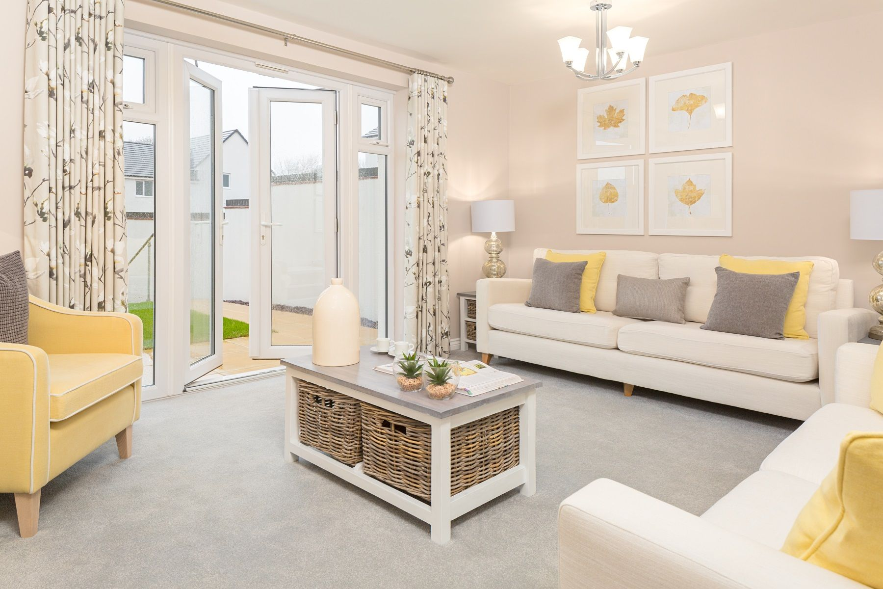 TW Exeter - Rackenford Meadow - Flatford example living room